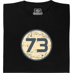 T-shirt 73 de Sheldon T-Shirt