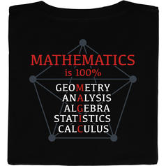 Mathematics is 100 percent Magic T-Shirt