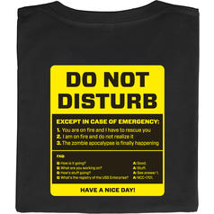 Do Not Disturb (Ne pas déranger)