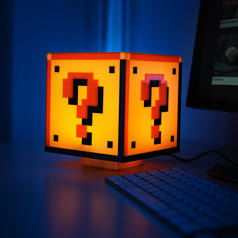 Nintendo Super Mario Question Block Light