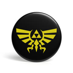 Geek Pin Triforce