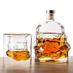 Star Wars Stormtrooper Whiskey Tumbler and Decanter
