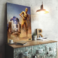 PosterPlate Star Wars Episode IV Metal Poster