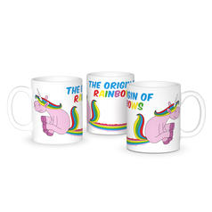 The Origin of Rainbows Mug