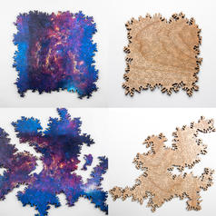 Infinity Puzzle - Wooden Jigsaw without Borders