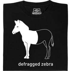 Defragged Zebra T-Shirt