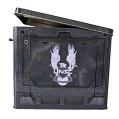 Metal Halo Ammo Crate Lunch Box