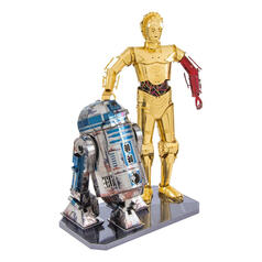 Star Wars 3D Metal Craft Kit R2-D2 & C-3PO