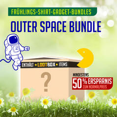 Outer Space Bundle mit Lootbox-Gadgets