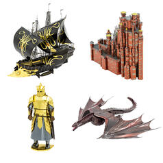 Game of Thrones Metal Earth 3D Construction Sets