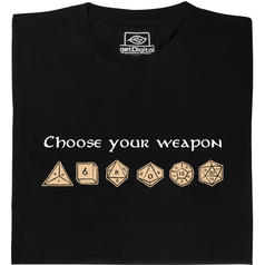 Choose your weapon (Choisis ton arme) T-Shirt