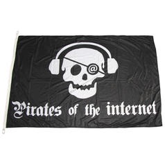 Drapeau Pirates Internet