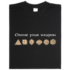 Choose your weapon (Choisis ton arme)