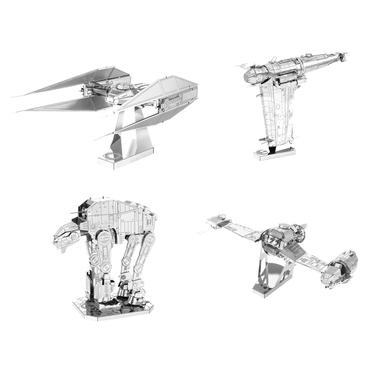 Kits de construction Metal Earth 3D de Star Wars épisode 8