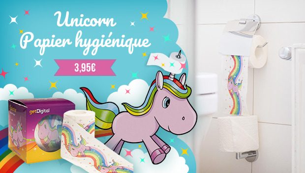 Papier hygiénique Unicorn